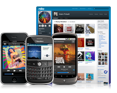 Rdio: a Social Music Revolution?